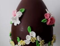 Uovo di Pasqua decorato golosissime