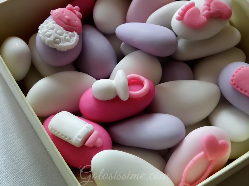 Amato Confetti decorati con coccinella in pasta di zucchero Golosissime CU58