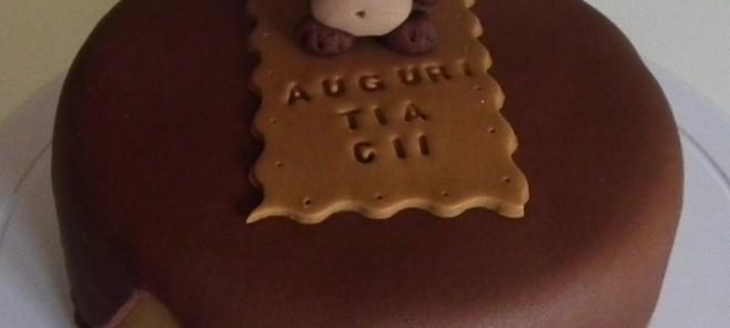 torta pasta di zucchero scimmietta